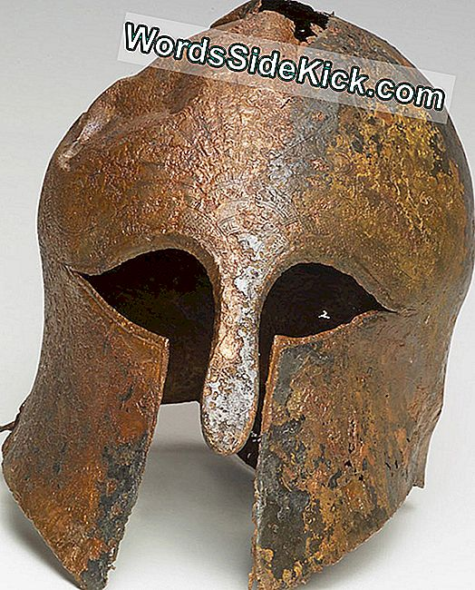 Gevonden: Ancient Warrior'S Helmet, Owner Unknown