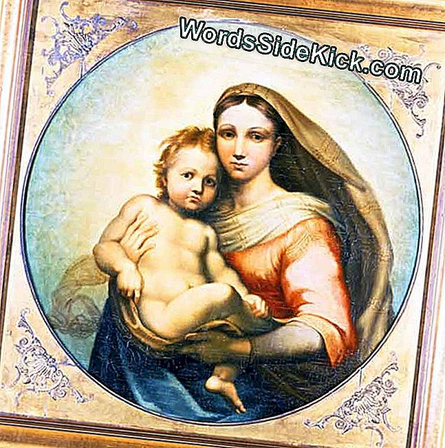 Mystery Of Madonna And Child Painting Solved