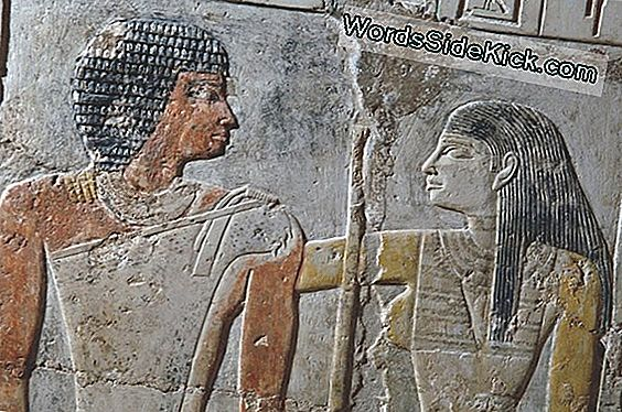 Pyramid-Age Love Revealed In Vivid Color In Egyptian Tomb