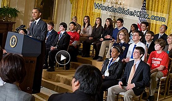 Obama Champions Science Research In Adresse