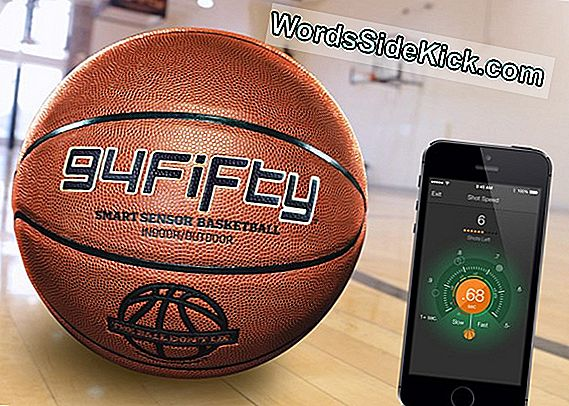 Fünfundfünfzig Smart Sensor Basketball Review