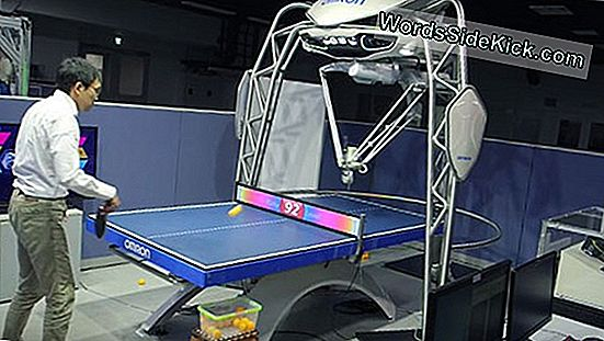 A Killer Spin: Table Tennis Krijgt 'First' Robotic Coach
