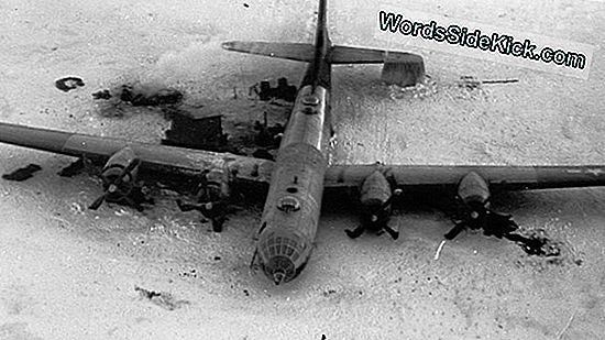 'Lost Squadron' Wwii Warplane Discover Deep Under A Greenland Glacier