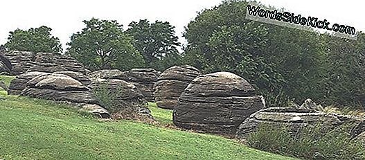 Rock City: Sandstone Concretions In Kansas