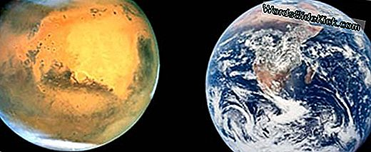 Earth Vs. Mars: Polar Opposites