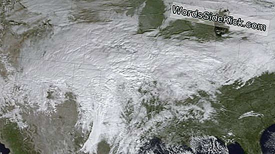 Satellite Spies Major Winter Storm Op Weg Naar Midwest