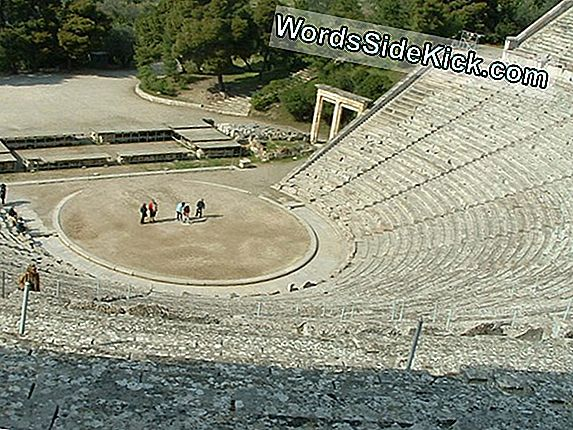 Mystery Of Greek Amphitheater'S Amazing Sound Finally Solved
