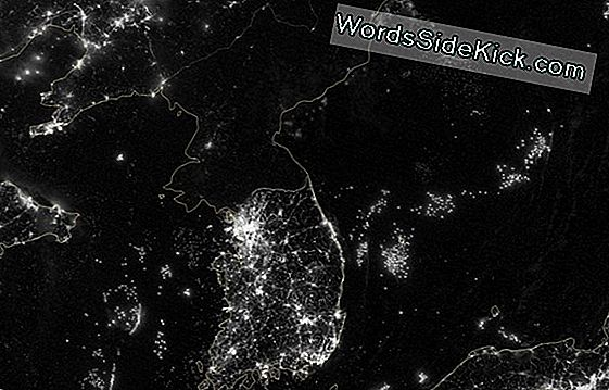 Lights Out Voor Noord-Korea: Space Photo Reveals Country'S Isolation
