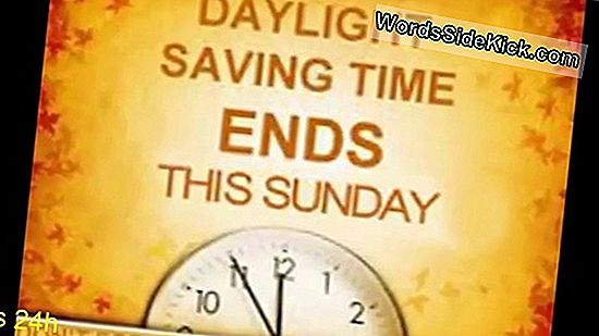 Fall Back: Daylight Saving Time Ends Sunday