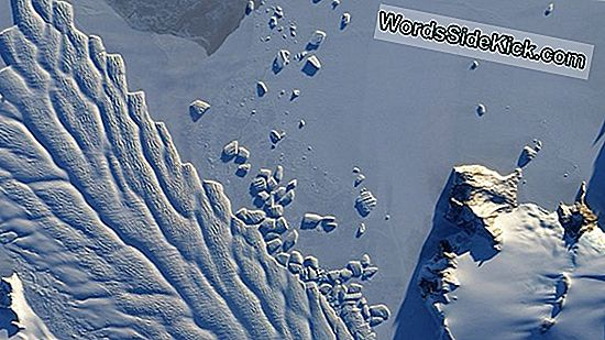 Antarctic Danger: Ice Plank Cracks Close British Base... Nogmaals