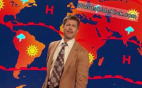 'There Is No Future': Brad Pitt Geeft Doomsday Forecast In Comedy Skit