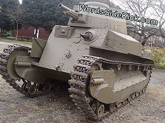 Japanse Type 89 Chi-Ro Medium Tank