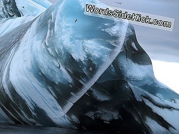 Varmt Vand Under Antarctic Glacier Spurs Rapid Smeltning