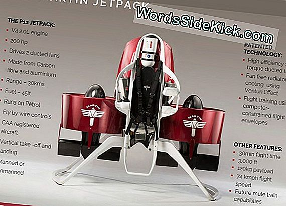 Jetpack Kunne Rocket Runners Til 4-Minute Mile