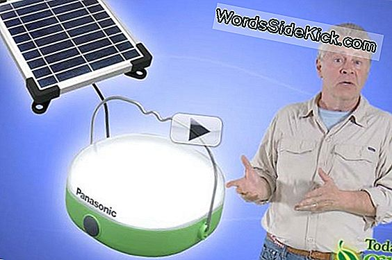 Panasonic Giver 100.000 Solar Lanterns Til Needy Villages Worldwide