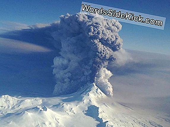 Alaska'S Redoubt Volcano Blows Off Some Steam