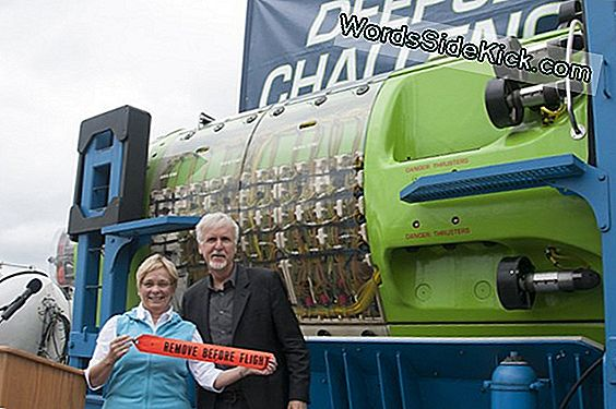 James Cameron Giver Record-Breaking Sub Til Science
