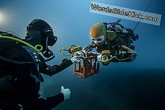 Diving Robot 'Mermaid' Låner En Hånd (Eller 2) Til Ocean Exploration