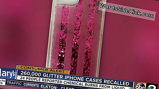 Quarter-Million Glitter Iphone Cases Recalled For Burn Hazard