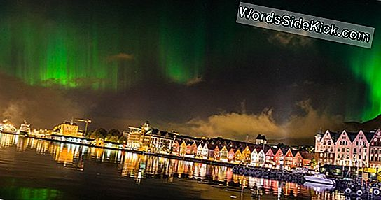 Northern Lights Festive Show Fange I Bedøvelse Nasa Image