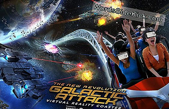 Roller Coasters Go Digital Con Vr-Enhanced Rides