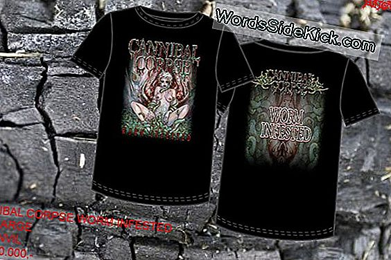 Cannibal Corpse Worm: 3-Suu-Pikk Olend Oli Monster Jaws