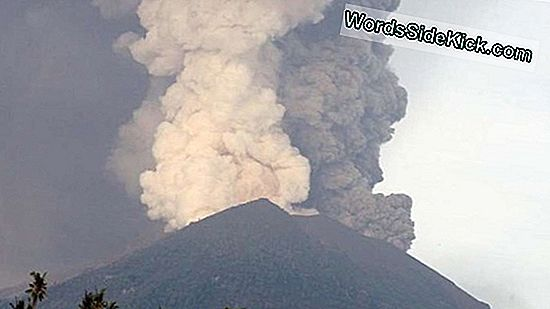 Mount Agung-Eruption: Der