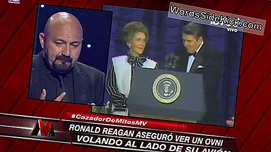Ronald Reagan Ve Un Ovni