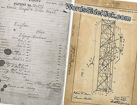 Lost Wright Brothers 'Flying Machine' Patent Komt Weer Boven