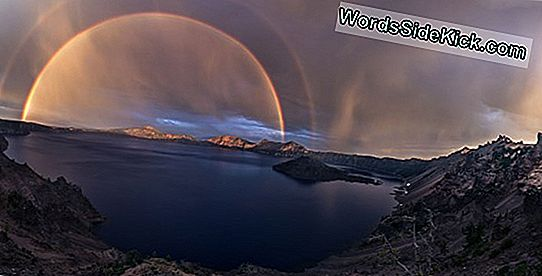 Amazing Photo: Double Rainbow Üle Wyomingi