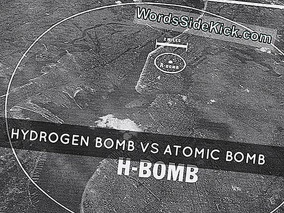 Hydrogen Bomb Vs. Atomic Bomb: Mikä On Ero?