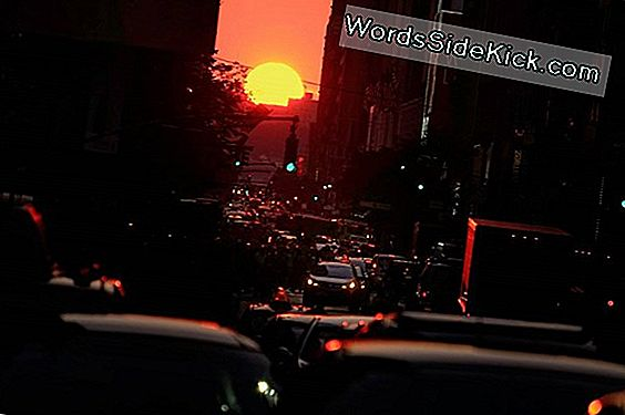 Will Street Di Manhattanhenge Si Illumina Sempre Di New York?