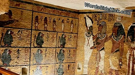 Replica King Tut Tomb Onthuld In Egypte