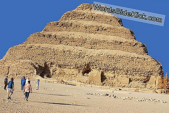 Step Pyramid Of Djoser: Egypt'S Eerste Piramide