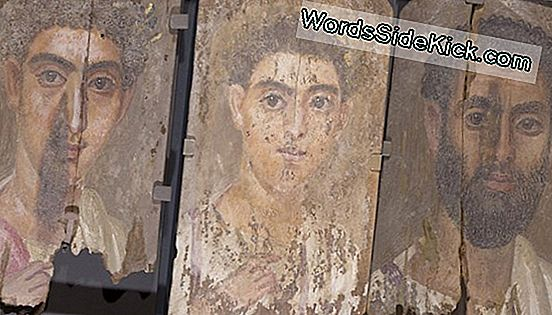 Hidden Blue Paint Found In Ancient Mummy Portraits