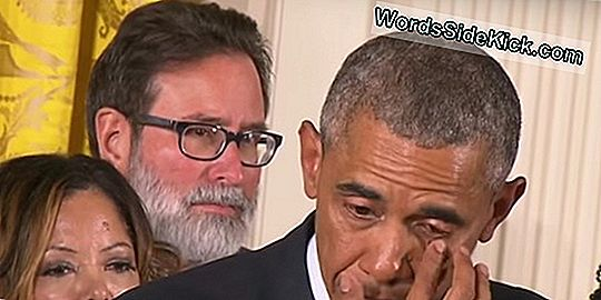Obama'S Tears: The Science Of Men Crying
