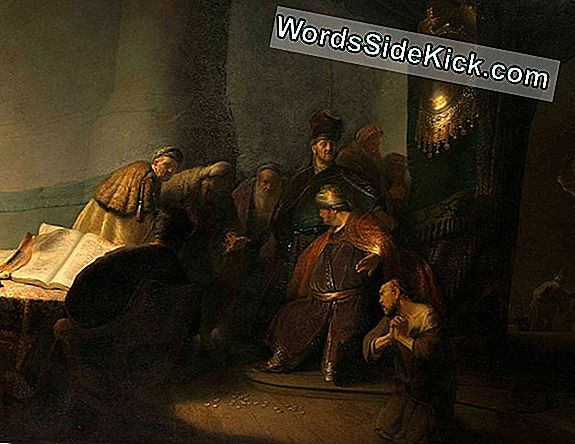 Secret Painting In Rembrandt Masterpiece Komt In Beeld
