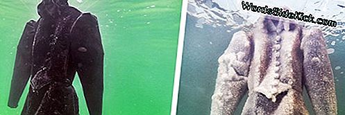 Dead Sea Transforms Deathly Dress Into Gorgeous Salt-Encrusted Jewel