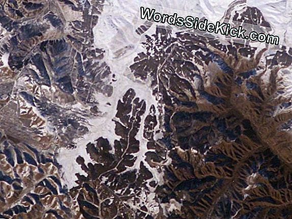 Great Wall Of White: Epic Snowfall Visible From Space