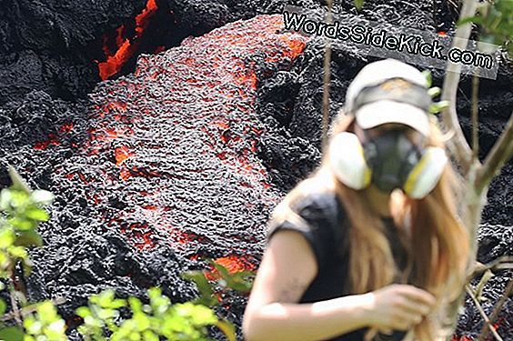 Spectaculaire Collapse Bij Hawaiian Volcano