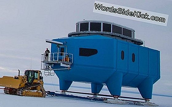 Antarctic Science Lab On The Move To Escape Breaking Ice