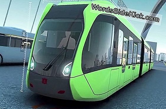 'Subway For The Street' Driverless Train Onthuld