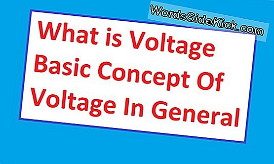 Wat Is Voltage?