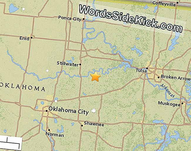 5.0-Magnitude Earthquake Oklahoma'Yı Hits