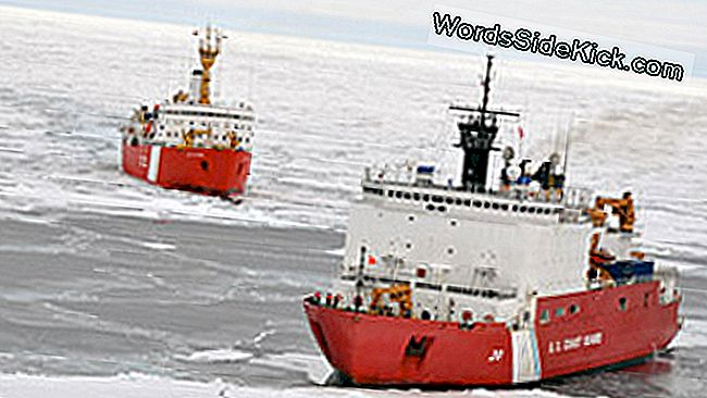 Icebreaker Ships Wrap Up Arctic Shelf-Mapping