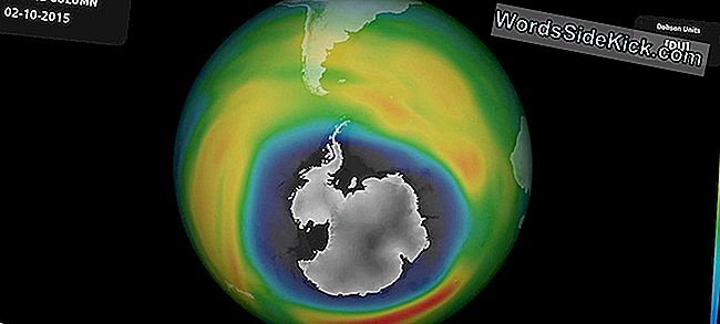Ozon Hole Over Antarctica Nears Record-Size Breaking Again