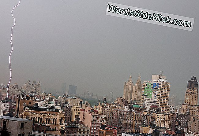 Verbluffende Foto: Blikseminslag In Manhattan