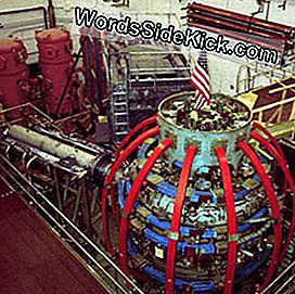 De National Spherical Torus Experiment fusiereactor aan het Princeton University Plasma Physics Laboratory.