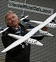 Sör Richard Branson, WhiteKnightTwo ve SpaceShipTwo modeliyle