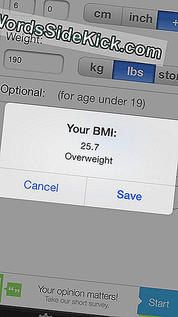 La aplicación BMI Calculator es una calculadora de BMI simple y fácil de usar.
